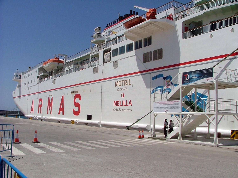 El puerto creci en mayo un 3 5 respecto al a o pasado for Oficina naviera armas