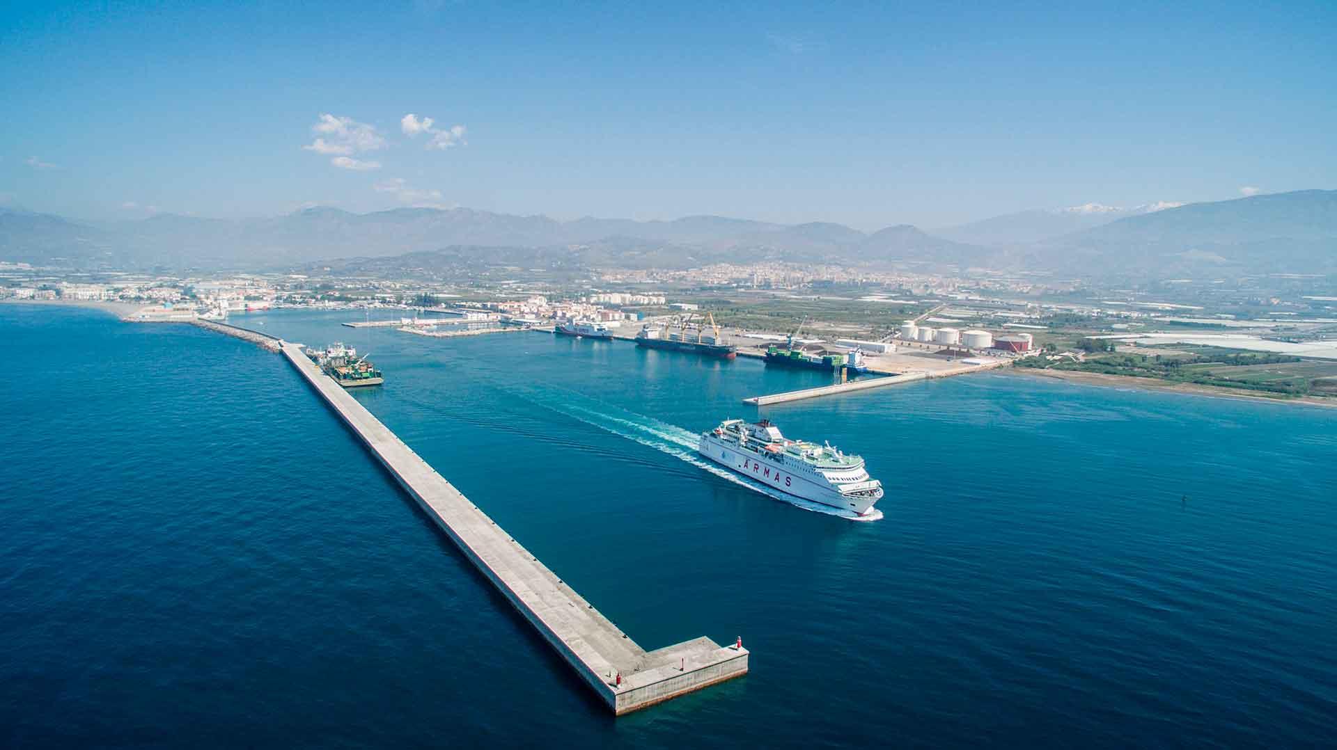 Port Of Motril Granada Port Of Spain